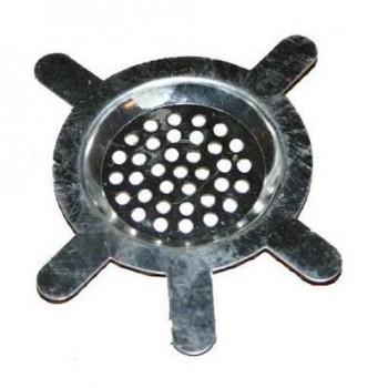 Metallgrinder mit Sieb Skull 3-teilig